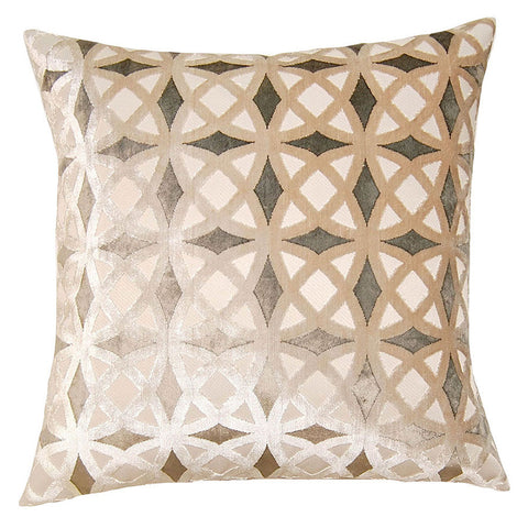 Bel Air Diamonds Pillow  in various sizes design by Square feathers