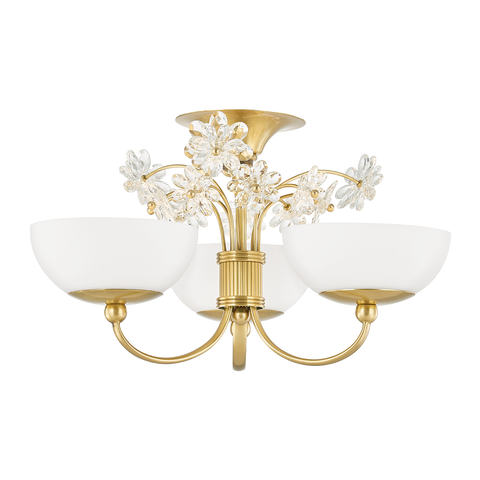 Beaumont 3 Light Flush Mount by Hudson Valley