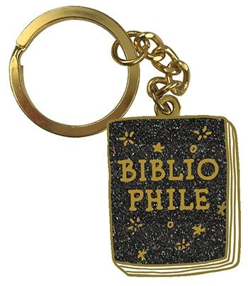 Bibliophile Magic Keychain Illustrations by Jane Mount
