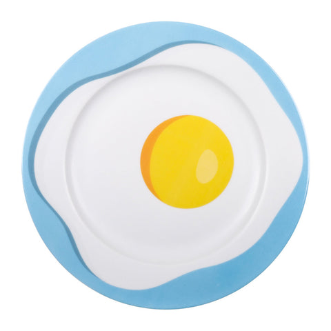 Porcelain Egg Plate by Seletti