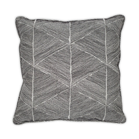 Blurred Lines Pillow design by Moss Studio