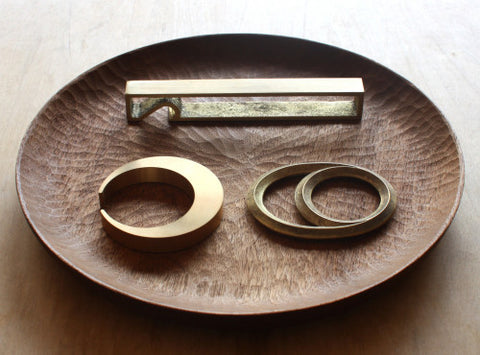 Brass Bottle Openers by Futagami