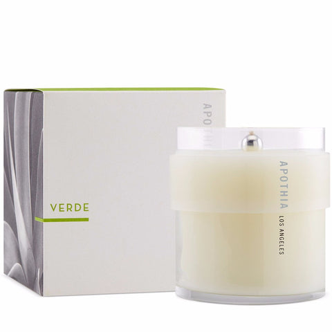 Verde Candle design by Apothia