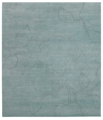 Bellagio Ruby Hand Knotted Rug in Blue design by Second Studio