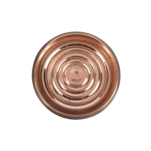 Copper Coin-Edged Bottle Coaster