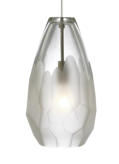 Monopoint 3000K Briolette Pendant by Tech Lighting