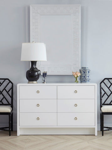 Bryant Extra Large 6-Drawer Dresser in White design by Bungalow 5