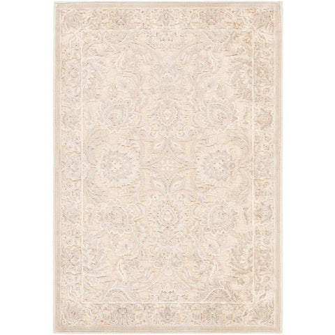 Basilica Rug in Beige & Grey design by Surya