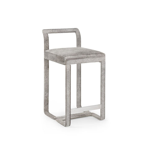 Baltar Counter Stool in Grey