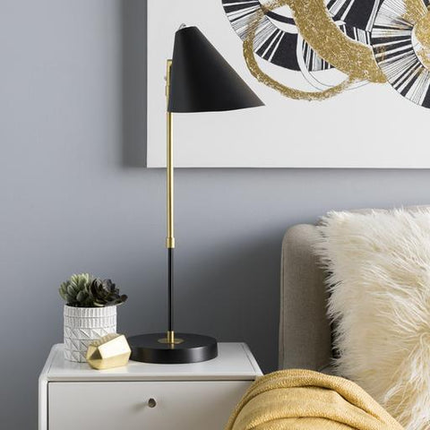 Bauer Table Lamp in Black