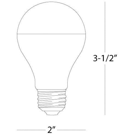 60W Lightbulb by Robert Abbey