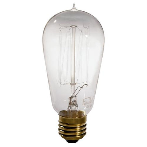 12 - 40W Historical Bulbs by Robert Abbey