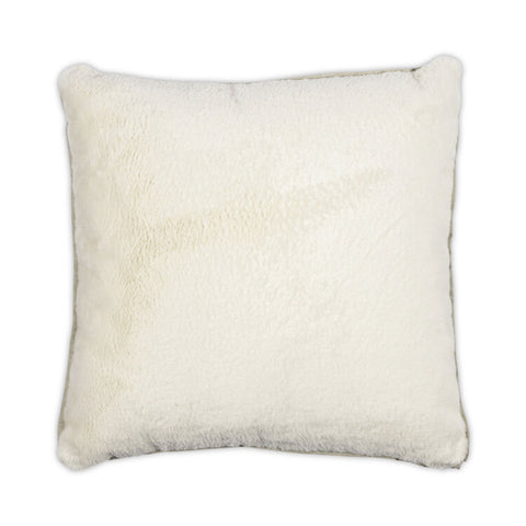 Bunny Flanged Pillow in Various Colors design by Moss Studio