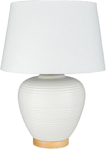 Bixby Table Lamp in White