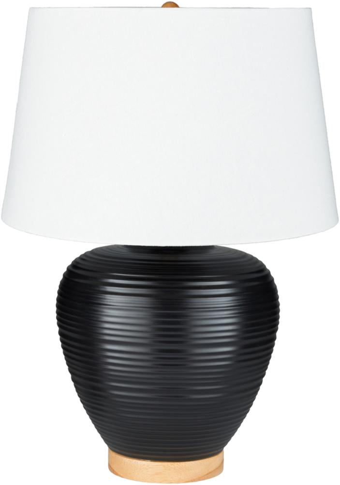 Bixby Table Lamp in Black & White design by Surya