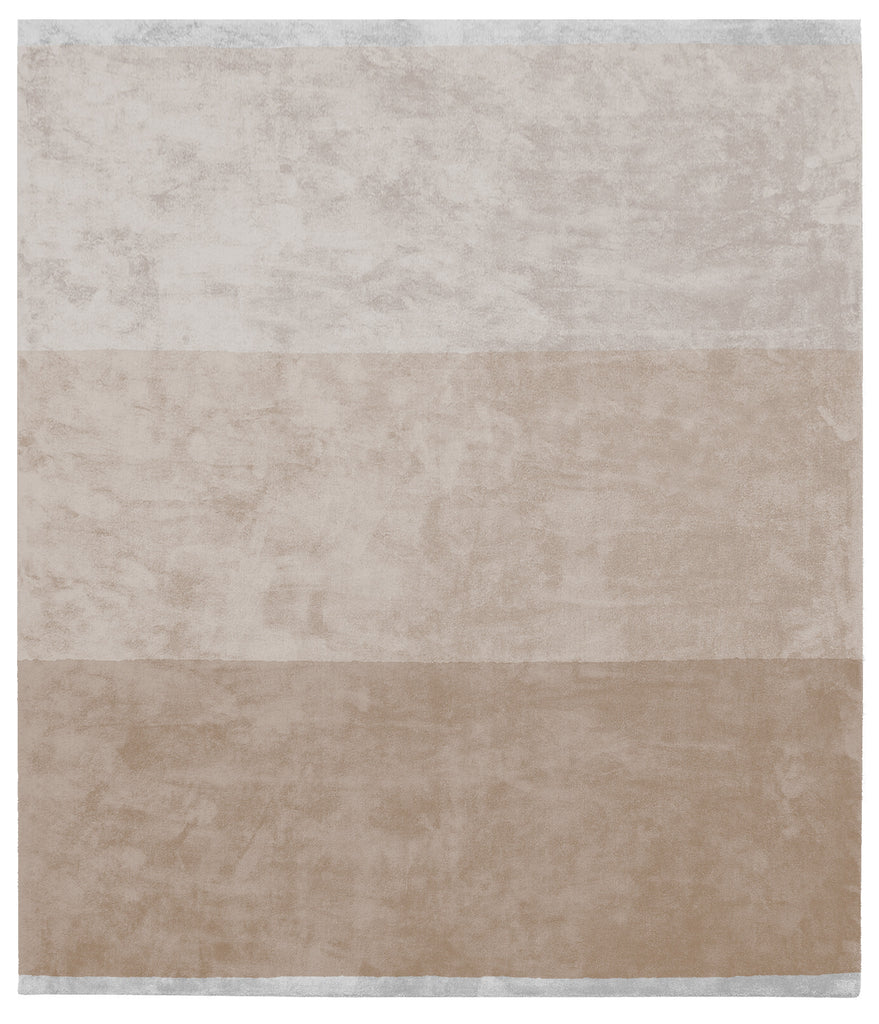 Byred Yama Hand Knotted Rug in Beige design by Second Studio