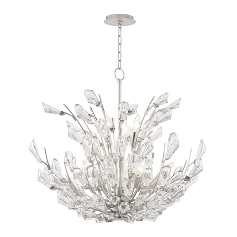 Tulip 9 Light Chandelier by Hudson Valley