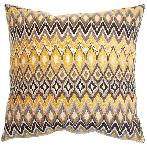 Cannes Zig Zag Pillow in various sizes design by Square feathers