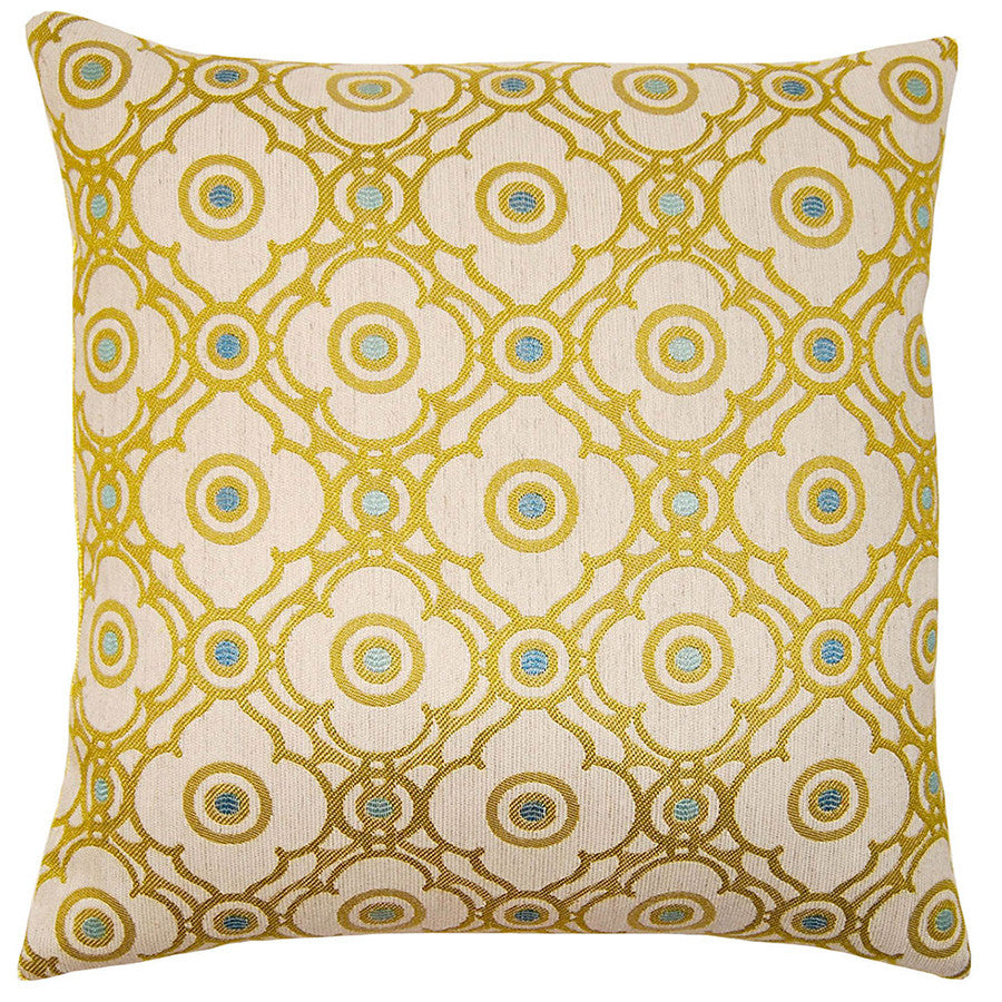 Capri Ornate Pillow  in various sizes design by Square feathers