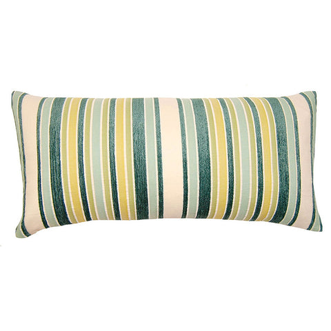 Capri Stripe Pillow  in various sizes design by Square feathers