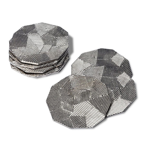 Set of 8 Carlyle Coasters by Interlude Home