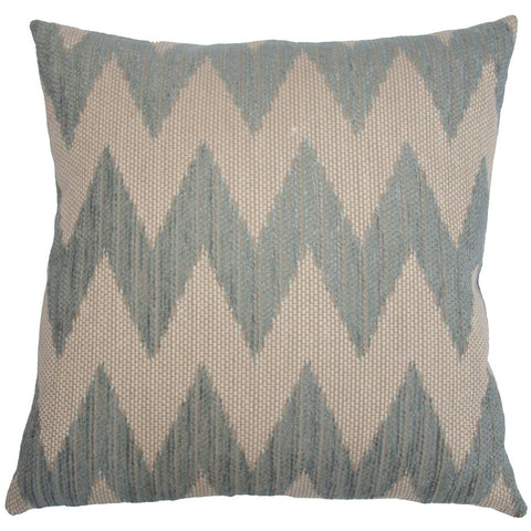 Carmel Chevron Pillow in various sizes design by Square feathers