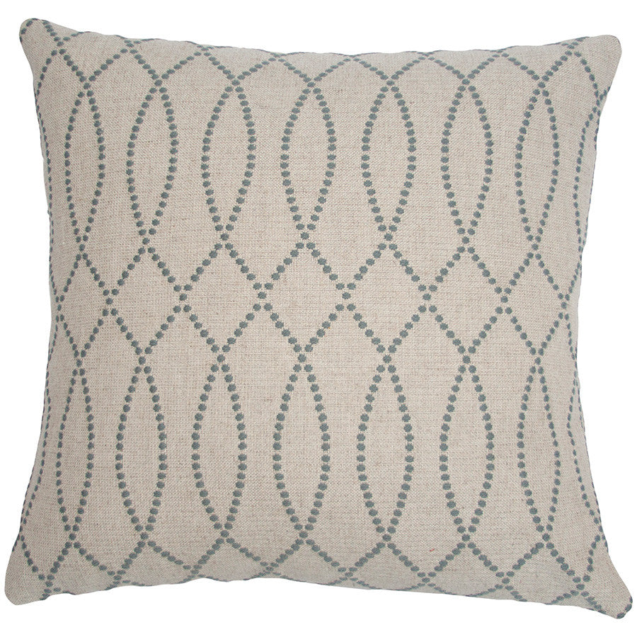 Carmel Swirls Pillow in various sizes design by Square feathers
