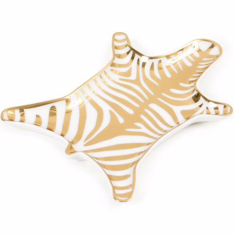 Carnaby Gold Zebra Stacking Dish design by Jonathan Adler