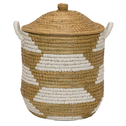 Clemente Lidded Basket design by Selamat