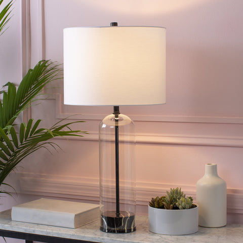 Carthage Table Lamp in Various Colors