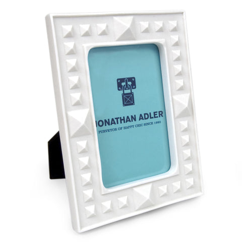Charade Studded Frame, 4x6 design by Jonathan Adler