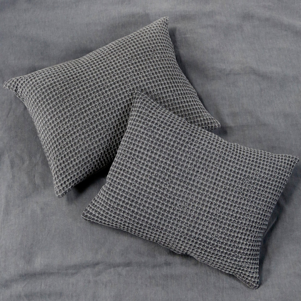 Zuma Blanket Collection in Charcoal by Pom Pom at Home
