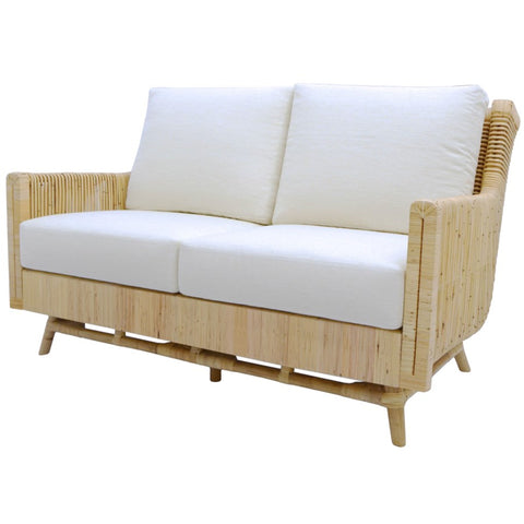 Calistoga Love Seat in Natural design by Selamat