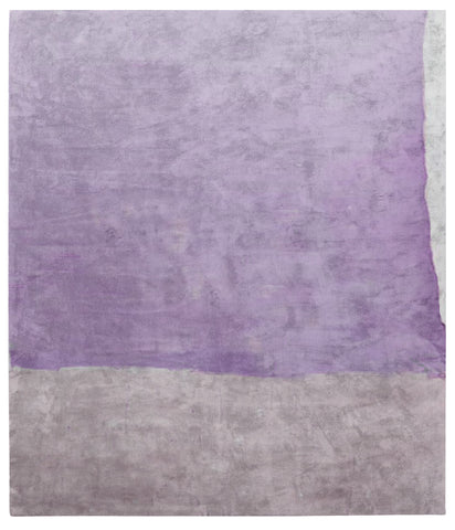 Cozzo Di Naro Hand Tufted Rug in Purple design by Second Studio