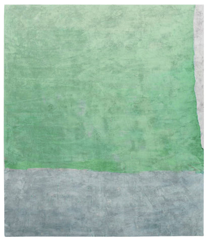 Cozzo Di Naro Hand Tufted Rug in Green design by Second Studio