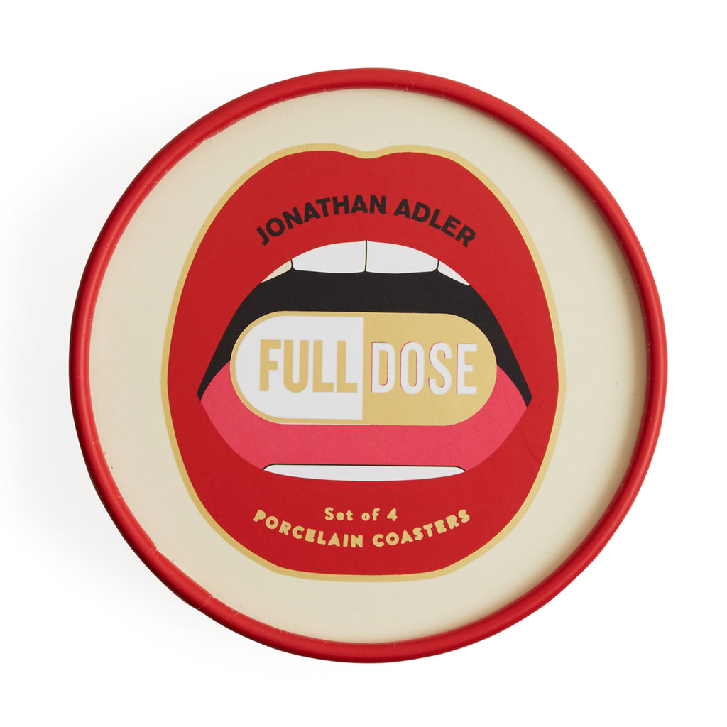 Set of 4 Full Dose Coasters design by Jonathan Adler