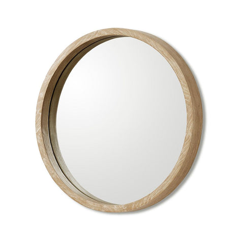 Como Mirror in Autumn Brown