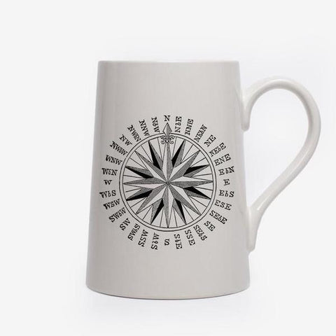 Compass Tankard design by Izola