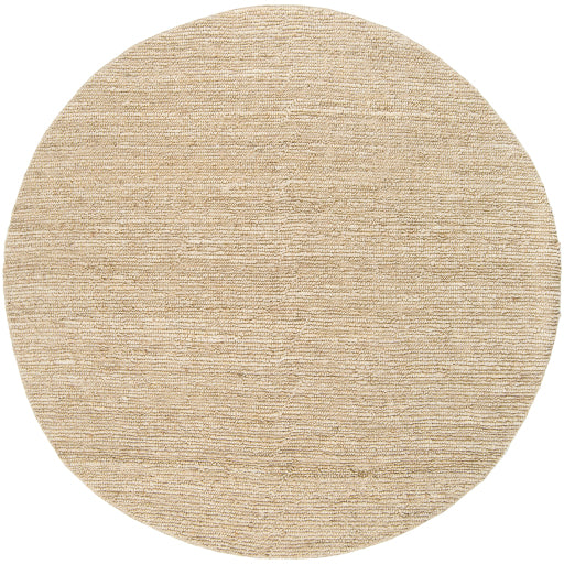 Continental Collection Jute Area Rug in Antique White design by Surya