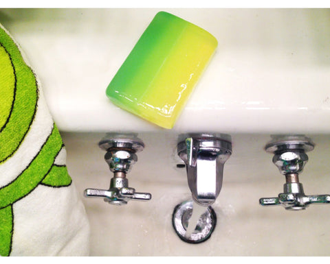 Cucumber and Cilantro Glycerin Soap