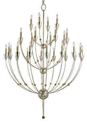 Large Paradox Chandelier design by Currey & Company