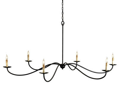 Saxon Chandelier design by Currey & Company