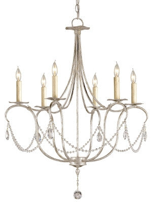 Samll Crystal Lights Chandelier design by Currey & Company