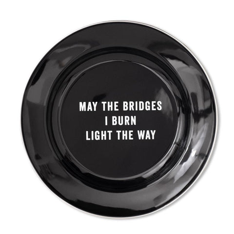 May The Bridges Enamel Plate design by Izola