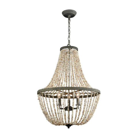 Cote des Basques Pearl Chandelier design by Lazy Susan