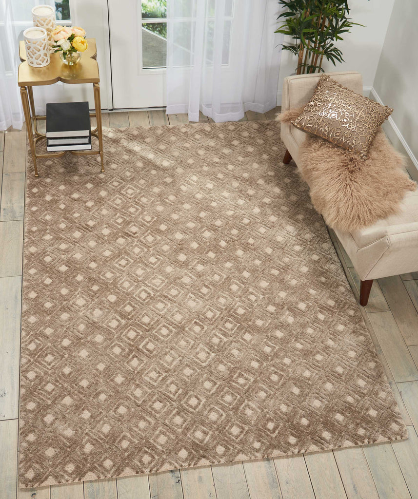 Deco Mod Rug in Taupe by Nourison