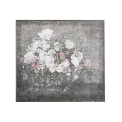 Flower Bouquet Wood Wall Decor