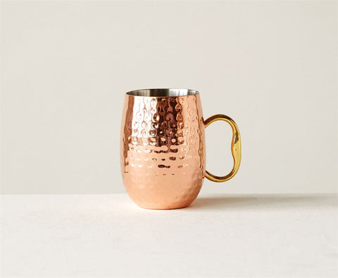 Stainless Steel Moscow Mule Mug in Copper Finish design by BD Edition