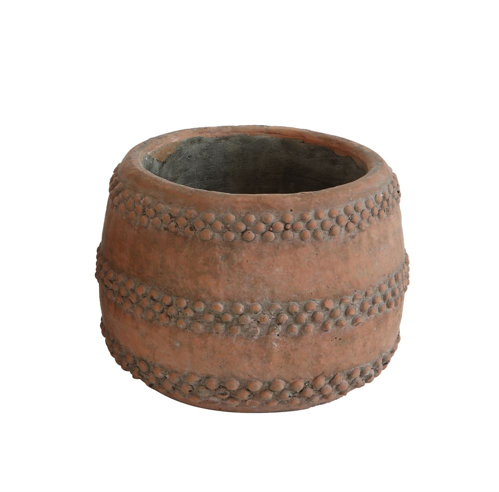 Cement Pot in Terra-cotta in Various Sizes design by BD Edition
