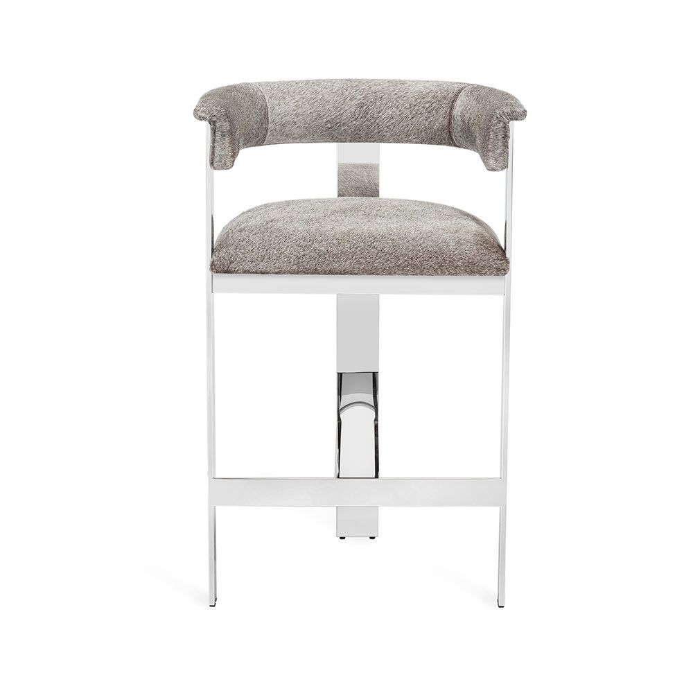 Darcy Hide Stool in Various Finishes & Sizes by Interlude Home